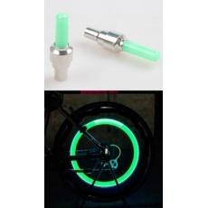 čiapočka ventilčeka LED zelená