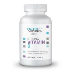 Strong Vitamín B 90 kapslí (Silný vitamín B)