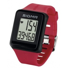 Pulzmeter Sigma ID.Go tmavo ružový