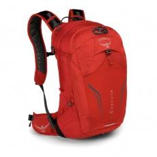 batoh + pláštenka OSPREY SYNCRO 20 Firebelly Red