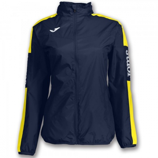 RAINJACKET CHAMPIONSHIP IV NAVY-YELLOW WOMAN