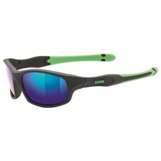 okuliare UVEX Sportstyle 507 čierno / zelené