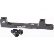 adaptér kotúčové brzdy Shimano predná / zadná 203mm post mont original balenie
