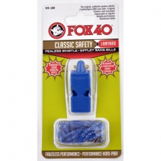 FOX Classic whistle + string 9903-0508 blue