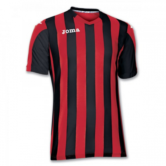 T-SHIRT COPA RED-BLACK S/S