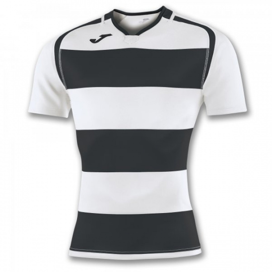 T-SHIRT PRORUGBY II BLACK-WHITE S/S