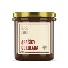 Arašidy - Čokoláda pražené mělněné 330g (arašidové-čokoládový krém)