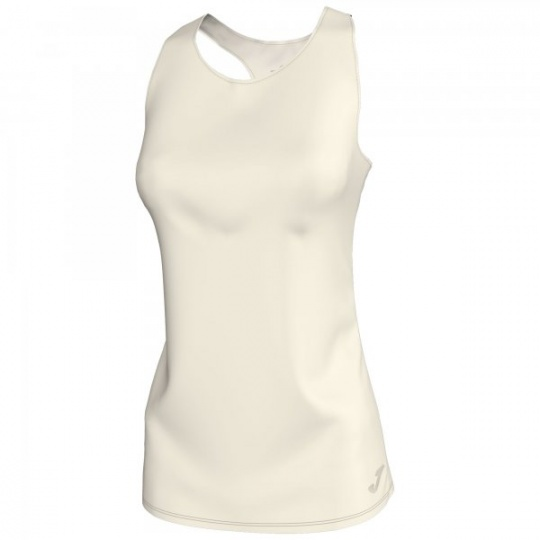 T-SHIRT ELECTRA OFF-WHITE SLEEVELESS WOMAN