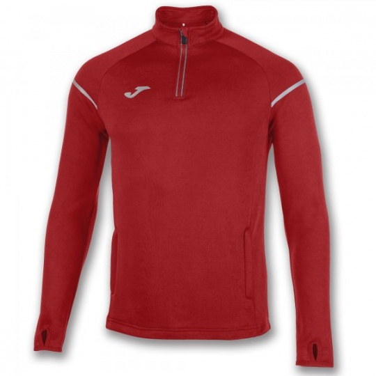 JACKET 1/2 ZIP FASTENING RACE RED