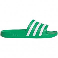 Adilette Aqua green slippers