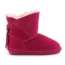 Bearpaw Mia Toddler Jr.2062T-671 Pom Berry Shoes