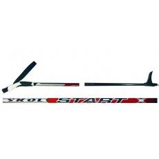 palice bežecké SKOL Štart RED 125-160cm