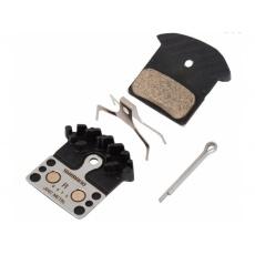 brzdové doštičky Shimano XT, XTR, SLX J04C kovové original balenie