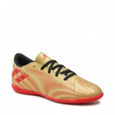 ADIDAS Nemeziz Messi.4 JR IC gold metallic/scarlet/core black Hnedá