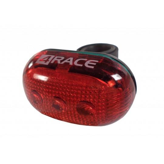blikačka zadní 4RACE 5 LED diodová