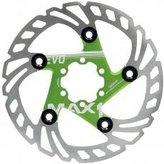 brzdový kotúč max1 Evo 160 mm zelený