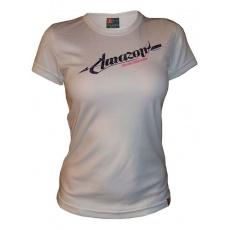 dres krátky dámsky HAVEN AMAZON bielo / fialový