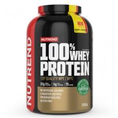 100% Whey Protein 2,25 kg NEW banán jahoda + Šejker ZADARMO