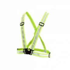 traky reflexné elastické pre dospelých žlté