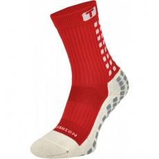 Trusox Mid football socks - Calf Cushion red