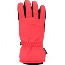 4F W H4Z20 RED006 62N ski gloves