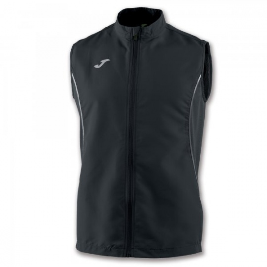 VEST RECORD II BLACK SLEEVELESS