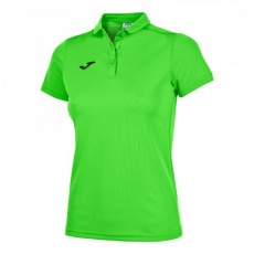 HOBBY WOMEN POLO SHIRT GREEN FLUOR S/S