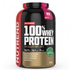 100% Whey Protein 2,25 kg NEW malina + Šejker ZADARMO