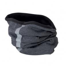 nákrčník zimné fleecový sivý