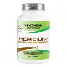 Hericium 60 kapslí (Extrakt z Korálovce ježatého)