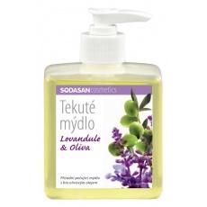 mýdlo tekuté SODASAN levandule-oliva 300 ml