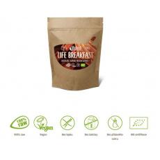 granola Lifefood Breakfast Bio Raw čokoládová s mandlemi 230g exp.10/21