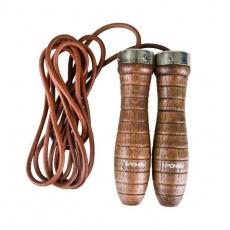 Leather jump rope SPOKEY QUICK SKIP III 838537