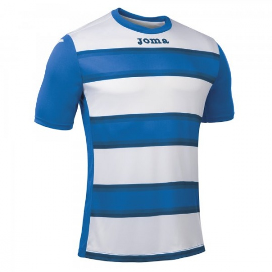 T-SHIRT EUROPA III HORIZONTAL STRIPED ROYAL S/S