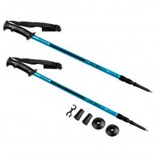 EKVILIBRO Trekingové palice, 3-dielne, modrá