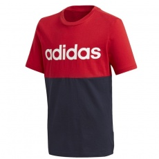 Adidas Linear Colorblock Tee Jr GD6333