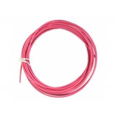 bowden radiacej 1.2/4.0mm SP 10m ružový role