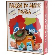 Finger Game On Poland Map