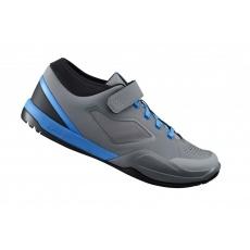 boty Shimano AM7 šedo-modré