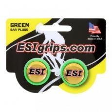 zátky riadidiel ESI zelené