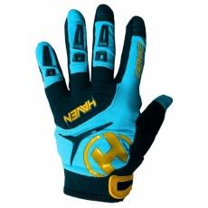 rukavice HAVEN DEMO LONG modro / oranžové