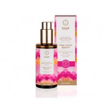 elixír olej KHADI pro pokožku a duši Růžový lotos - krása 100ml