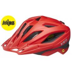 prilba KED Street Junior MIPS M fiery red matt 53-58 cm