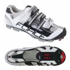topánky MTB Force FREE 2015 čierno / biele