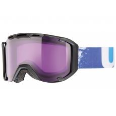 okuliare lyžiarske UVEX SNOWSTRIKE čierne