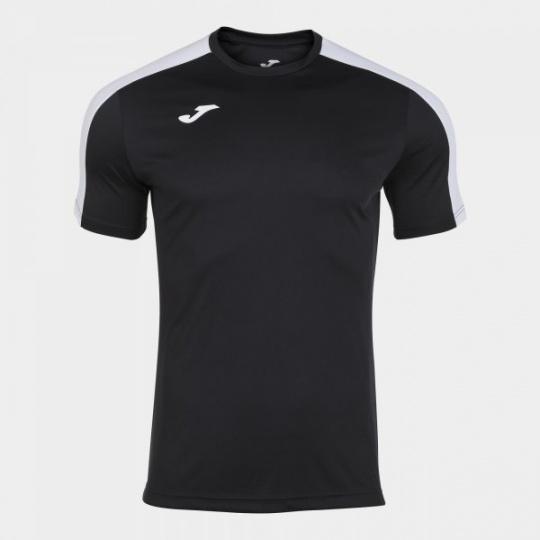 ACADEMY T-SHIRT BLACK-WHITE S/S