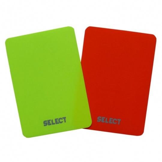Referee cards Select 2pcs 0613