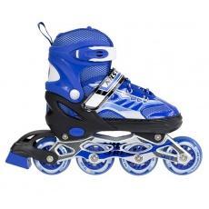 Detské kolieskové korčule NILS EXTREME NJ 1828 A modré