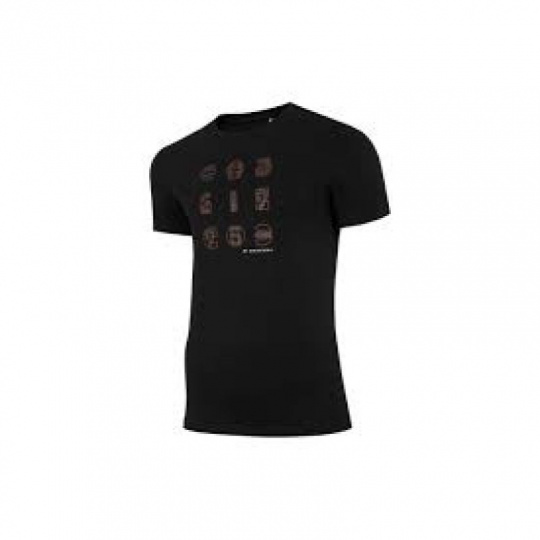 T-shirt 4F M H4Z21-TSM018 Black