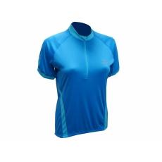 dres krátky dámsky Rogelli CANDY tm.modrý